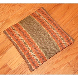 Tribal Indo Kilim Knife-Edged Pillows (Set of Two)