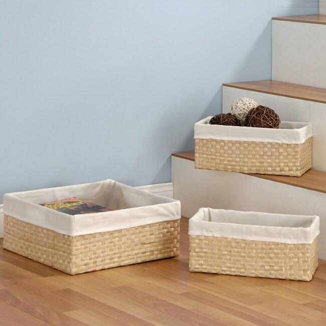Seagrass Basket (set of 3)