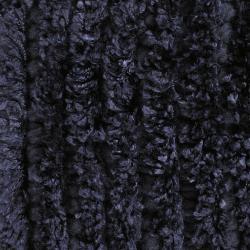 Hand-woven Mandara Blue Shag Rug (5' x 7'6)