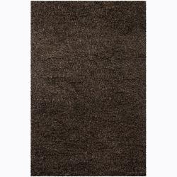 Handwoven Multicolor Wool/Linen Mandara Shag Rug (7'9 x 10'6)