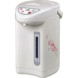 Floral Pattern Hot Water Dispenser with Dual-Pump System (4.2L)