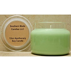 Southern Made Candles 12-oz Apothecary Christmas Tree Soy Candle