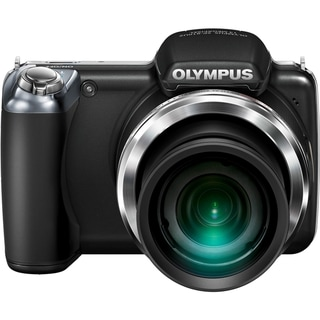 Olympus SP-810UZ 14 Megapixel 3D Compact Camera - Black