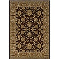 Brown/Gold Oriental Rug (5'3 x 7'5)