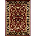 LNR Home Adana Red/ Black Oriental Rug (7'9 x 9'9)