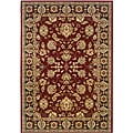 Red/Brown Oriental Runner Rug (2'2 x 7'1)