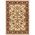 Cream/Brown Oriental Runner Rug (2'2 x 7'1)