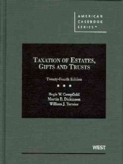 Taxation of Estates, Gifts and Trusts (Hardcover)