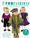 "Fun Fashions: Contemporary Outfits to Knit for 18"" Dolls (Paperback)"