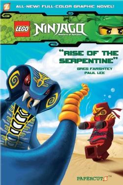 Ninjago Masters of Spinjitzu 3: Rise of the Serpentine (Hardcover)