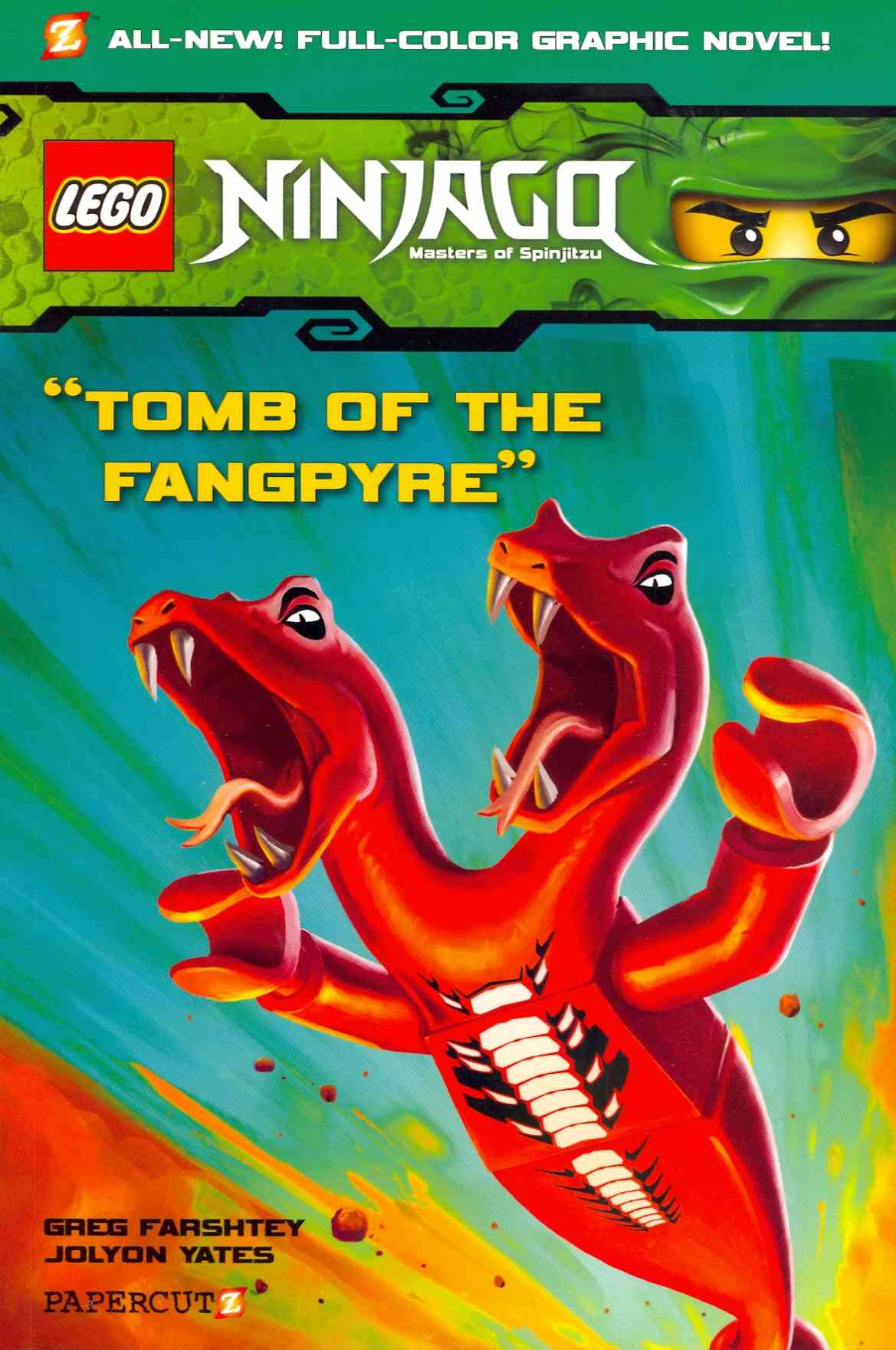 Ninjago Tomb of the Fangpyre #4: Tomb of the Fangpyre (Paperback)