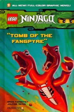 Ninjago 4: Tomb of the Fangpyre (Hardcover)