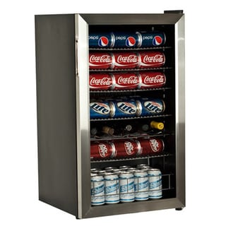 EdgeStar Stainless Steel 103-can Beverage Cooler