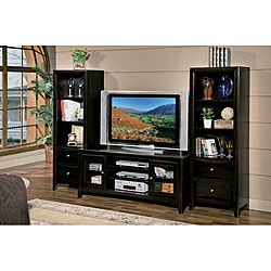 William's Home Furnishing 59-inch TV Stand with 2 Piers