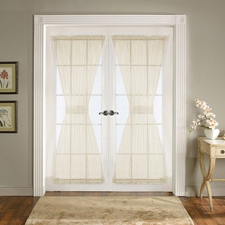 Lush Decor Ivory 72-inch Breeze Door Panels (Set of 2)