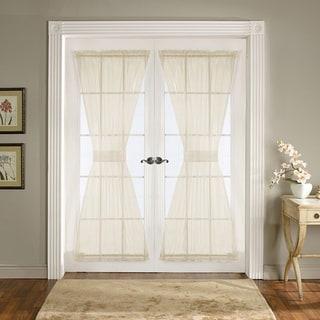 Lush Decor Ivory 72-inch Breeze Door Panels (Set of 2)
