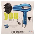 Conair You Reel 1875W Tourmaline Ceramic 2-in-1 Folding Hair Dryer