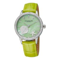 Stuhrling Original Women's Verona La Playa Swiss Quartz Watch - Green