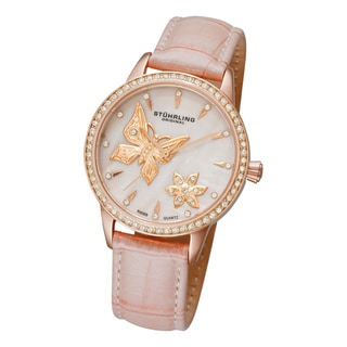 Stuhrling Original Women's Verona Mariposa Swiss Quartz Watch