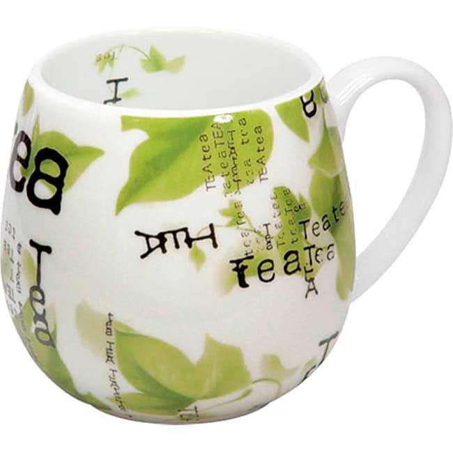 Konitz Snuggle Mugs Tea Collage (Set of 4)