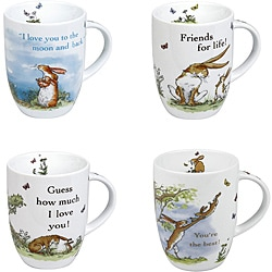 Konitz Guess How Much I Love You Mugs Assorted (Set of 4)
