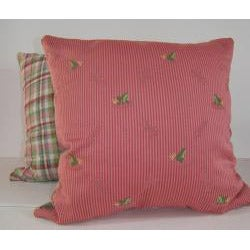 Ribbit Rose Decorative Pillow