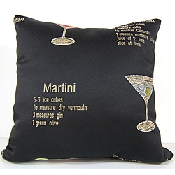 Happy Hour Decorative Pillow