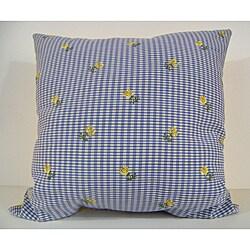 Lilac Denim Decorative Pillow