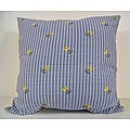 Lilac Denim Decorative Pillow
