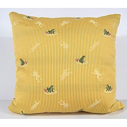 Ribbit Decorative Pillow