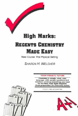 High Marks: Regents Chemistry Made Easy - The Physical Setting (Paperback)