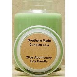 Southern Made Candles 26-oz Apothecary Christmas Tree Soy Candle
