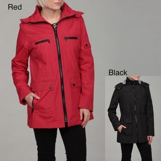 London Fog Women's Zip Front Jacket