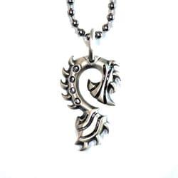 Bico Australia Fine Grade Pewter Tiger Claw Pendant Necklace