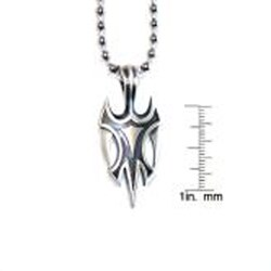Bico Australia Fine Grade Pewter Viking Pendant Necklace