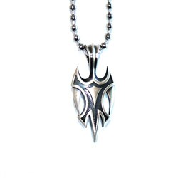 Bico Australia Fine Grade Pewter Viking Pendant Necklace