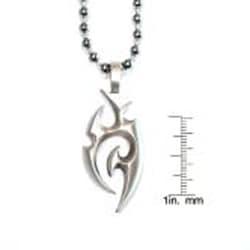 Bico Australia Fine Grade Pewter Vapatra Pendant Necklace