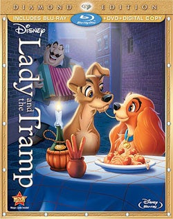 Lady and the Tramp - Diamond Edition (Blu-ray/DVD)