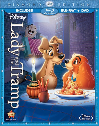 Lady and the Tramp (Diamond Edition) (Blu-ray/DVD)