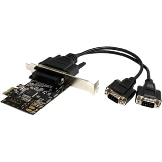 StarTech.com 2 Port RS232 PCI Express Serial Card w/ Breakout Cable