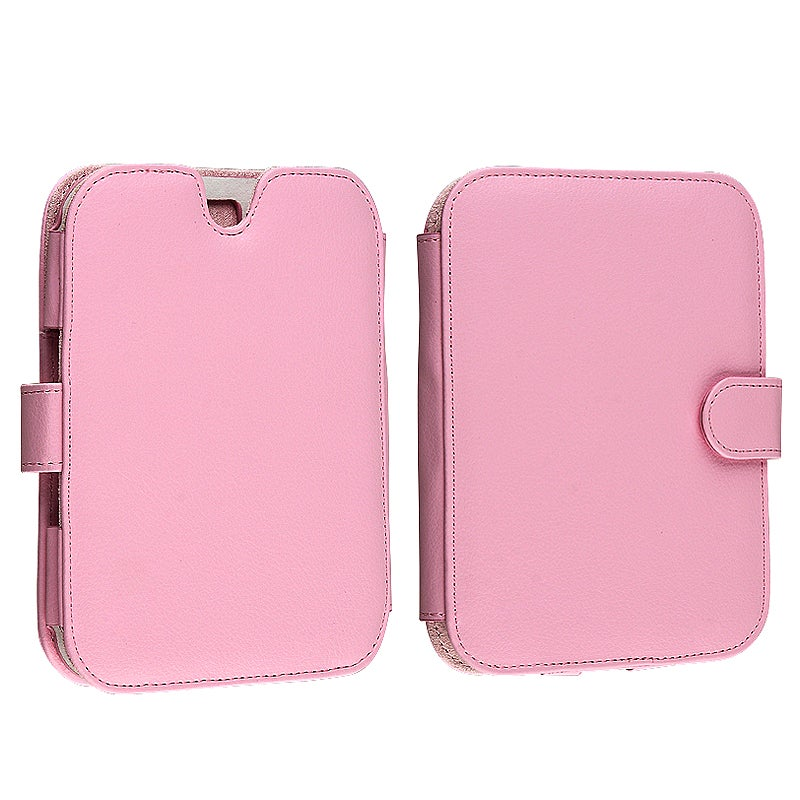 INSTEN Pink Leather Phone Case Cover Protector for Barnes & Noble Nook 2nd Edition