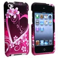 Purple Heart Case Protector for Apple iPod Touch 4th Gen