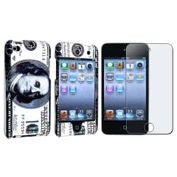 Dollar Case/ Anti-glare Screen Protector Apple iPod Touch 4th Gen