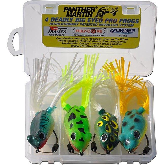 Panther Martin Four-piece Double-hook Hollow-body Pro Frog Kit