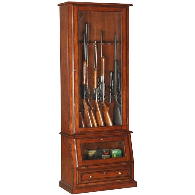 Slanted Base 12-gun Cabinet