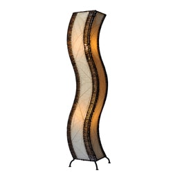 Natural Wave Large Floor Lamp (Philippines)