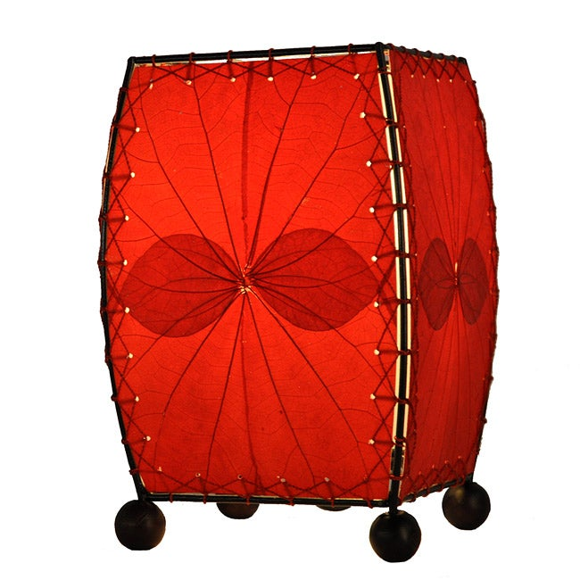 Red Mini Alibangbang Table Lamp (Philippines)