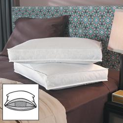 Famous Maker 3-inch Gusseted Ultimate Support Down Triple Chamber Pillows (Set of 2)