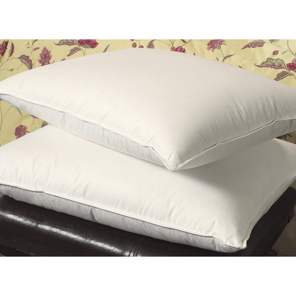 Famous Maker Supportive 300 Thread Count Triple Chamber Pillows (Set of 2)