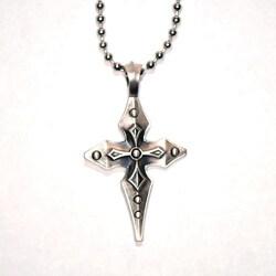 Bico Australia Fine Grade Pewter Percival Cross Pendant Necklace